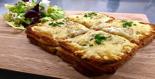 Dining dishes Croque Monsieur - Expérience Bar