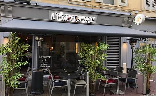 Bar private function Cannes L'Expérience terrace