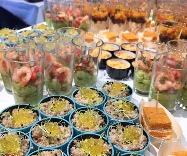 Catering service L'Epérience bar Cannes reception events
